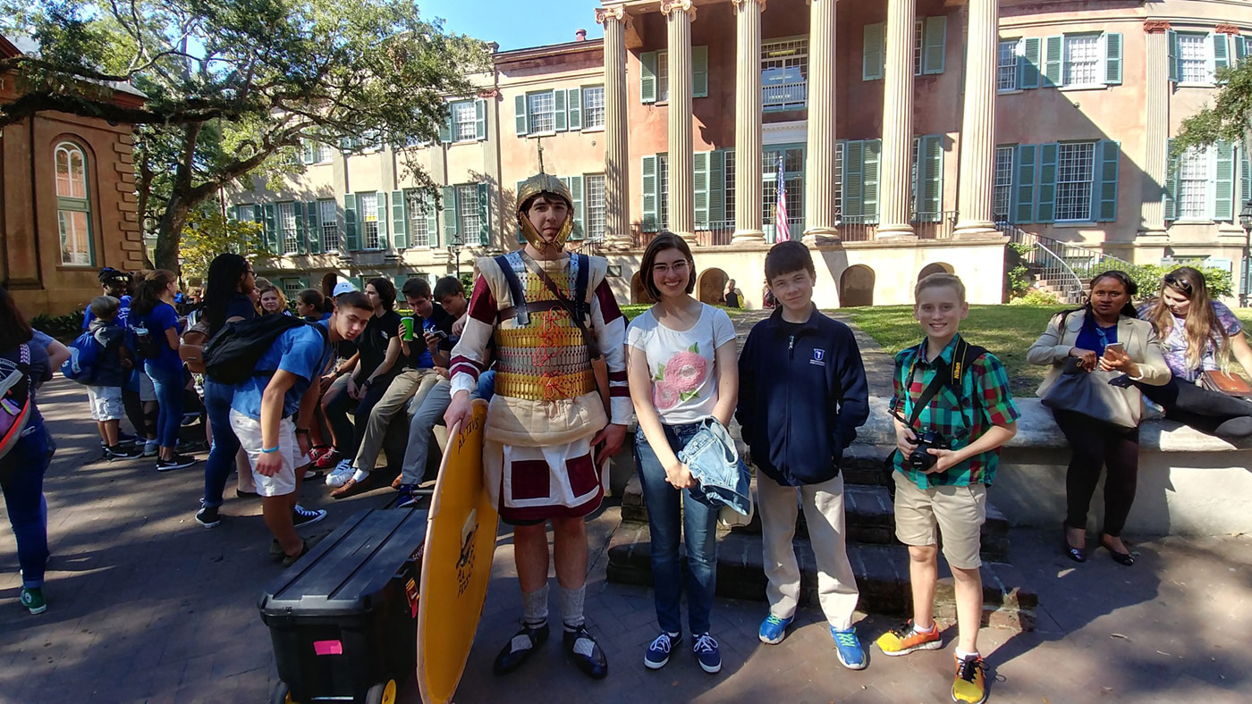 Learning Outside the Classroom at CofC