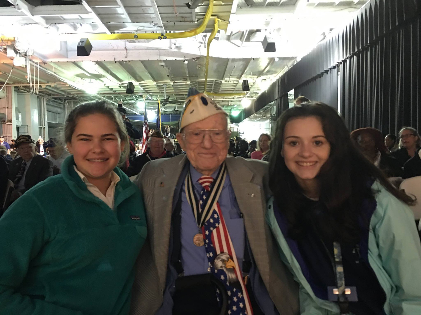 USL Students Celebrate Veterans